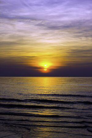 'koh samui': Beautiful sunrise at Koh Samui in cloudy day