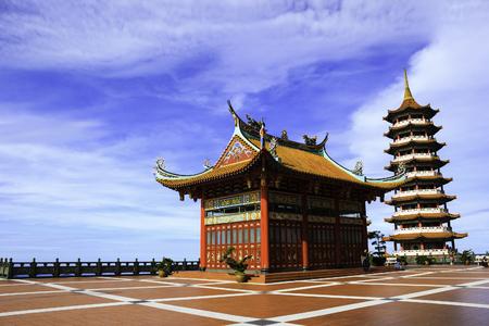 Chin Swee temple on high land, Malaysia Stock Photo