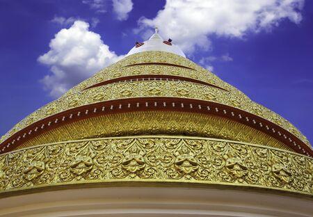 Pagoda of Wat Chaiyamangalaram, Penang, Malaysia