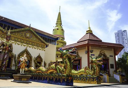 Wat Chaiyamangalaram Buddhist Temple in Malaysia