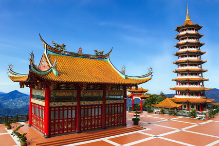 Chin Swee temple highlands, Malaysia Stock Photo