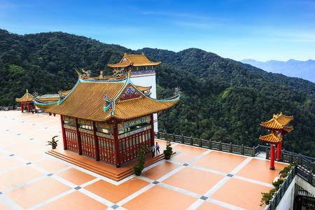 Chin Swee temple landmark on highlands, Malaysia
