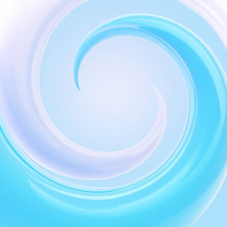 Spiral twirl as abstract background