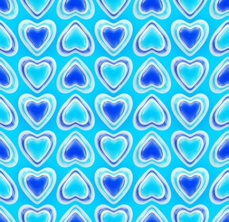 Seamless background texture made of love hearts Stock Photo - 13145216