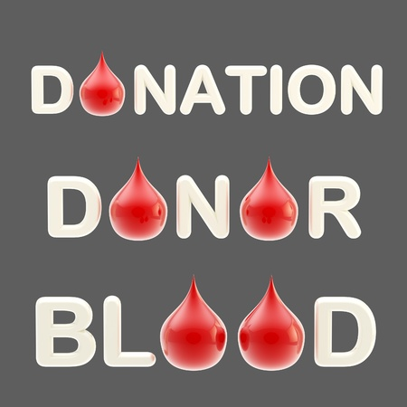 Donation ,  donor ,  blood  words photo
