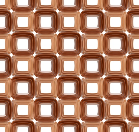 Seamless abstract geometric background  made of glossy bright square figures photo