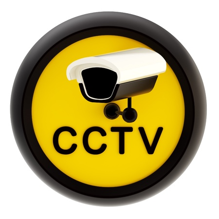 monitored area: Closed circuit television alert sign