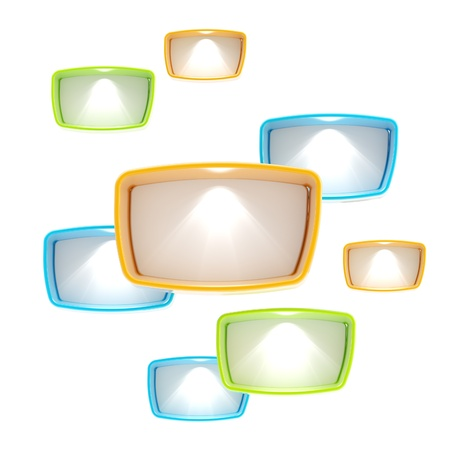 Lightboxes copyspace abstract background photo