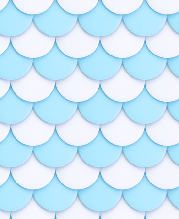 squama: Seamless glossy squama background as white and blue texture