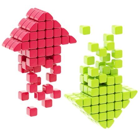다운로드 화살표 아이콘을 업로드