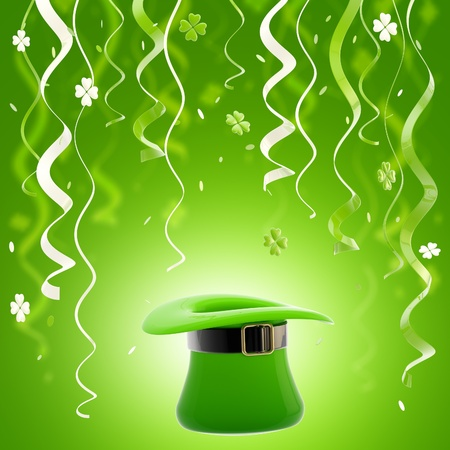 St  Patrick day colorful background Stock Photo - 13485338