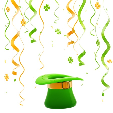 St  Patrick day colorful background Stock Photo - 13485211