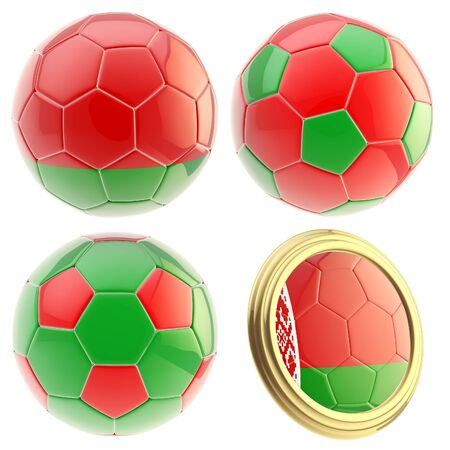 attributes: Belarus football team attributes isolated