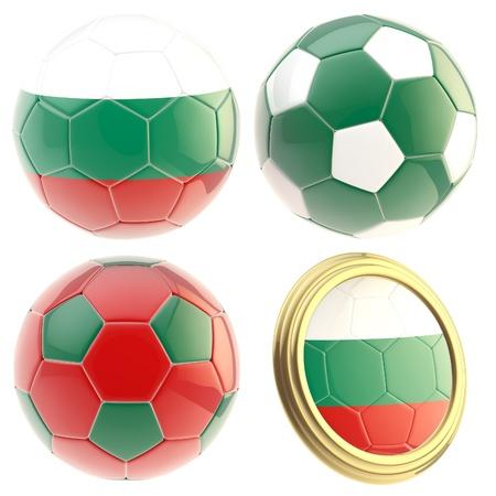 attributes: Bulgaria football team attributes isolated