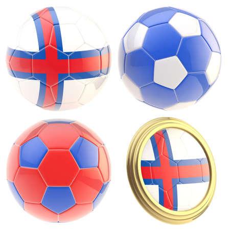 the attributes: Faroe Islands football team attributes isolated