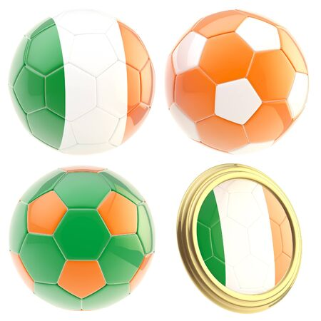 the attributes: Ireland football team attributes isolated
