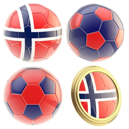 the attributes: Norway football team attributes isolated