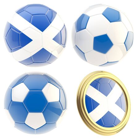 the attributes: Scotland football team attributes isolated
