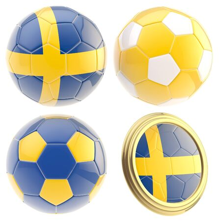 the attributes: Sweden football team attributes isolated