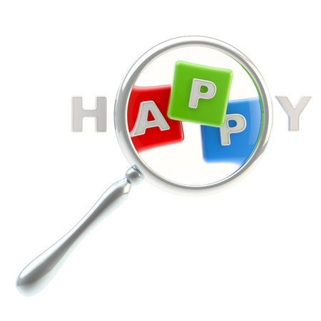 App symbol as the part of happiness Stock Photo - 13485473