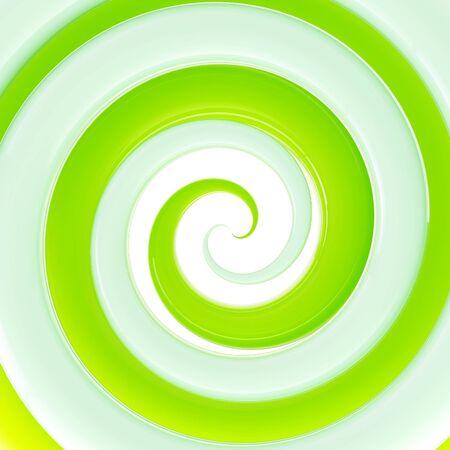 salat: Colorful fresh green glossy twirl background