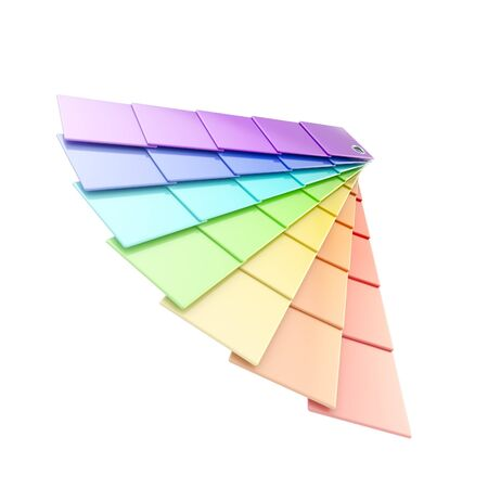 Typographic rainbow colored palette Stock Photo - 14183095