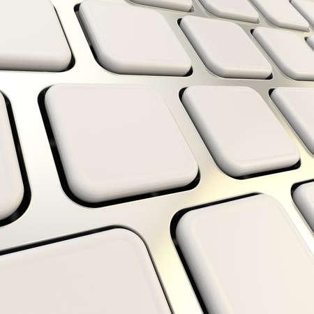 Keyboard close-up to empty copyspace keys photo