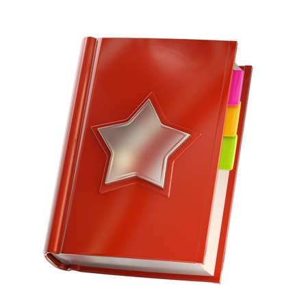 favoritos: Favoritos y libreta de direcciones aislados