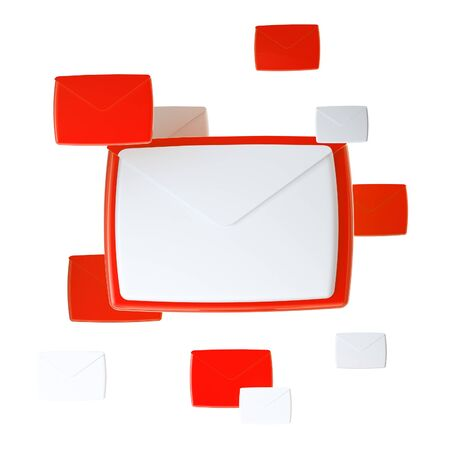 E-mail letter emblem icon isolated photo