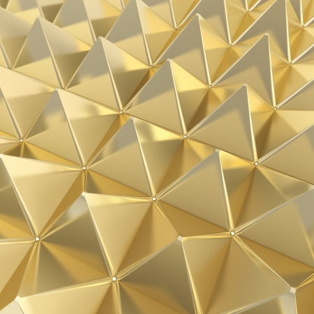 noise isolation: Abstract background made of pyramids