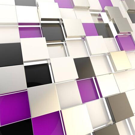 Cube abstract copyspace background photo