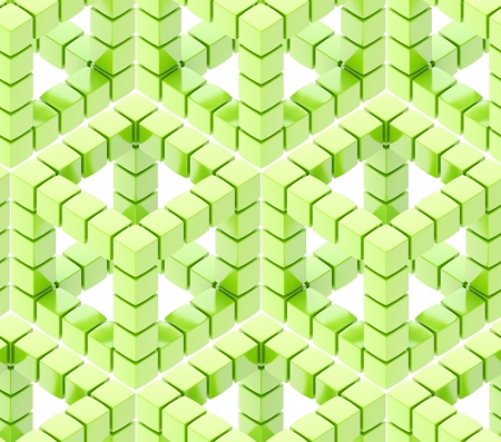 contrasts: Seamless hexagon cube background texture abstract backdrop
