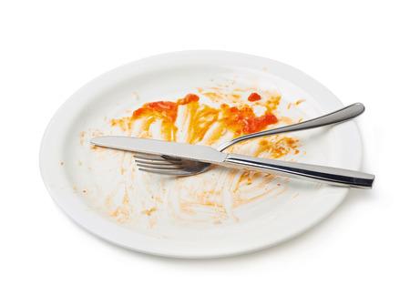 Prljavi noževi i viljuške su isključivo u tanjiru
