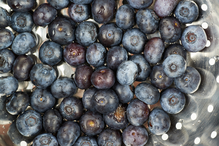 bilberries: Surface coated with the multiple ripe bilberries as a backdrop texture composition