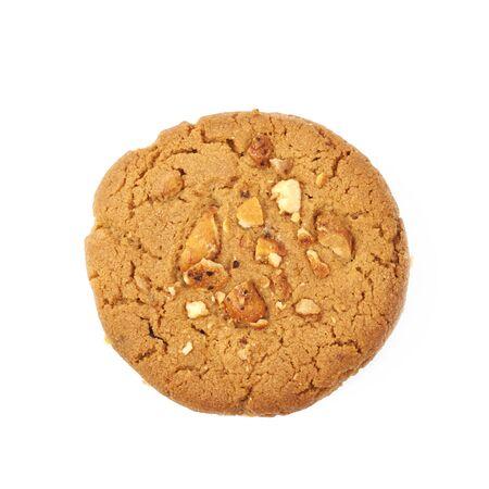 Erdnussbutter hausgemachte Cookie isoliert