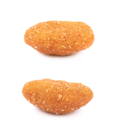 processed grains: Single breaded peanut isolated