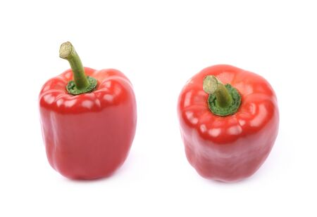 bell peper: Bell pepper isolated
