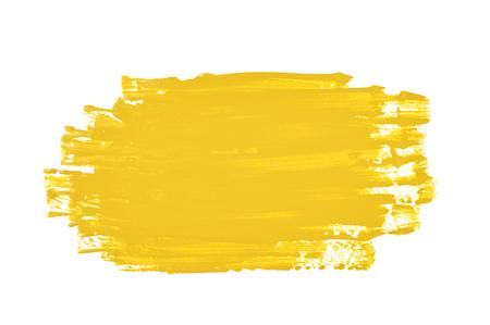 brushstroke: Smudged splash of paint isolated