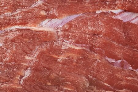 muscle fiber: Beef meat texture Stock Photo