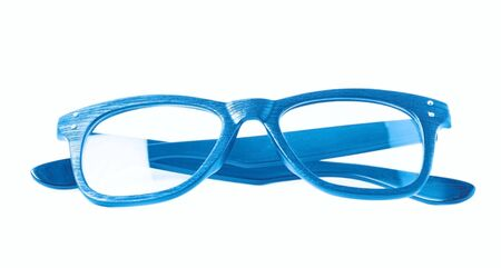 Pair of optical glasses isolated