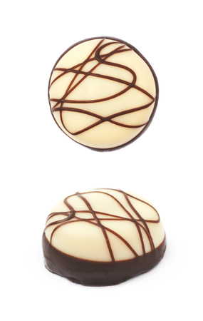 Chocolate confection candy isolated