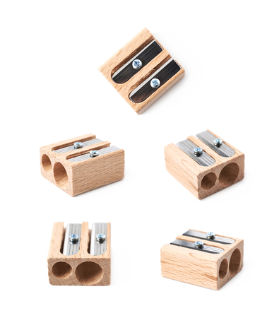 Pencil sharpener isolated