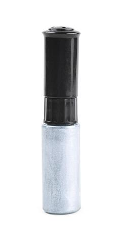 nail polish bottle: Bottle of nail polish isolated Stock Photo