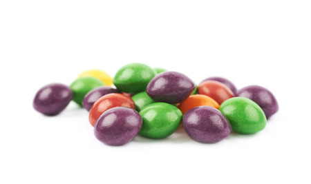 gumballs: Pile of colorful chewing candies