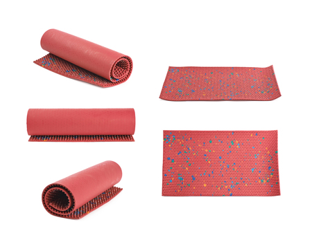 Orthopedic mat with spikes isolated