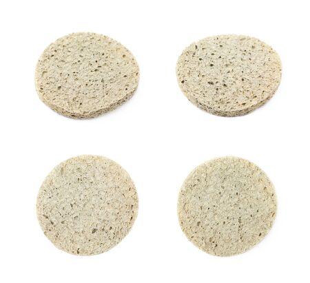Used make-up sponge isolated