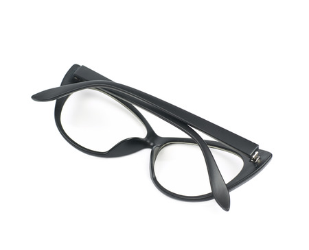 Pair of sight glasses isolated Stock Photo