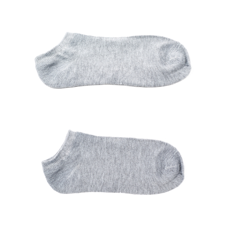 warm cloth: Low-cut ped sock isolated