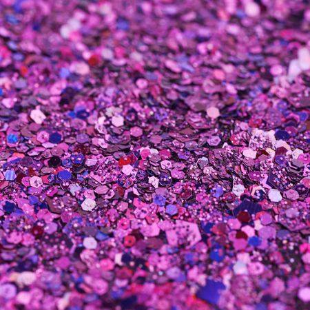 sequins: Surface coated with colorful sequins Stock Photo