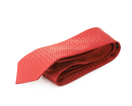 Folded tie isolated